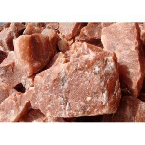 Himalájská oranžová sůl do sauny – štípané krystaly 5-11 kg