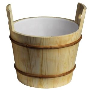 Klasické dřevěné vědro Abatec.