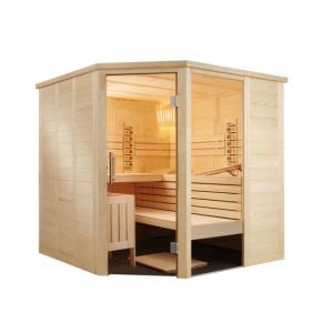 Finská sauna ALASKA CORNER INFRA+